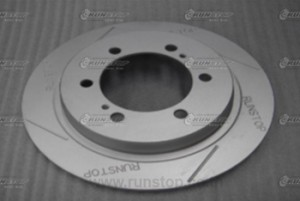 Rear Rotor disc 320mm.